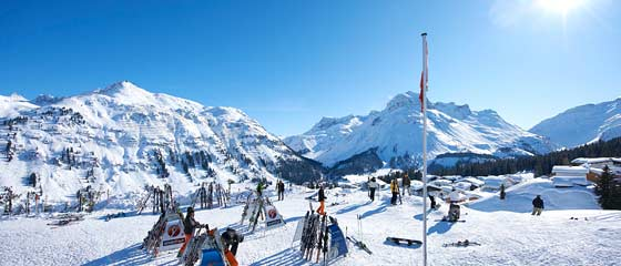 All-inclusive winter offers Oberlech